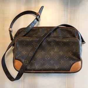 Authentic Louis Vuitton Nile Vintage Crossbody Bag